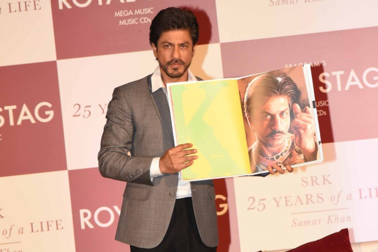 25 years of life a Book on SRK