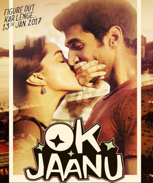 OK Jaanu Aditya Roy Kapur & Shraddha Kapoor