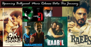 Upcoming Bollywood Releases Dates This January _ SRK and Raees to Clash