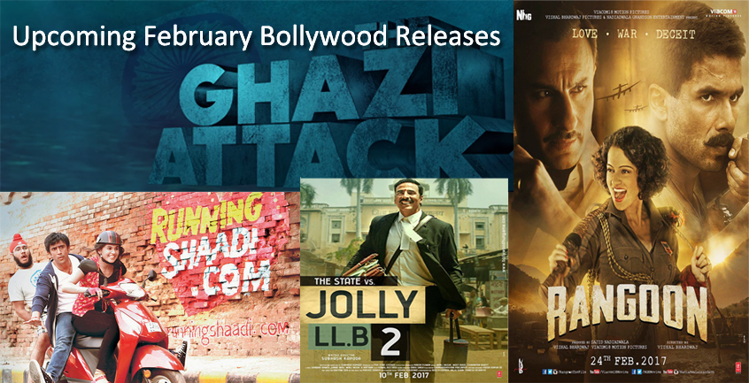 Upcoming February Bollywood Releases