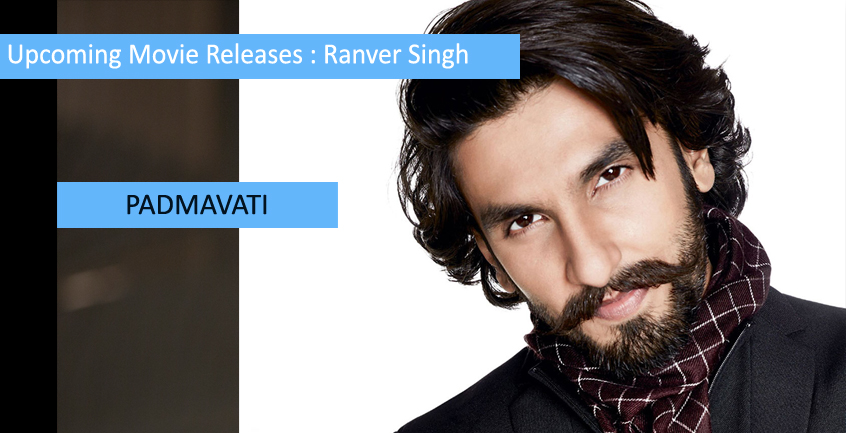 Upcoming Movie Releases of Ranveer Singh 2017-2018