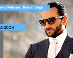 Upcoming Movie Releases of Saif Ali khan 2017-2018