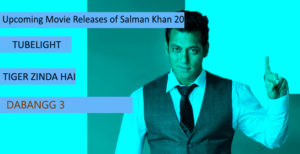 Upcoming Movie Releases of Salman Khan in 2017-2018