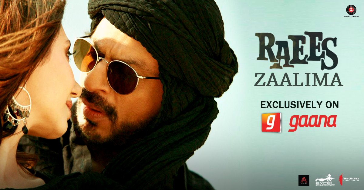 Raees Movie Romantic Song Zaalima : Shah Rukh Khan & Mahira Khan