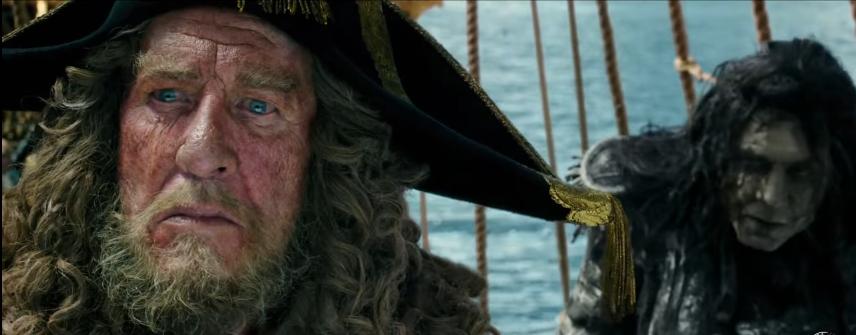Pirates of caribbean Dead Man Tells No Stories