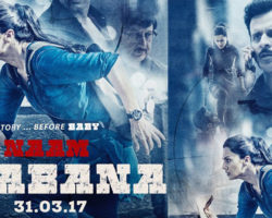 The First look of Naam Shabana