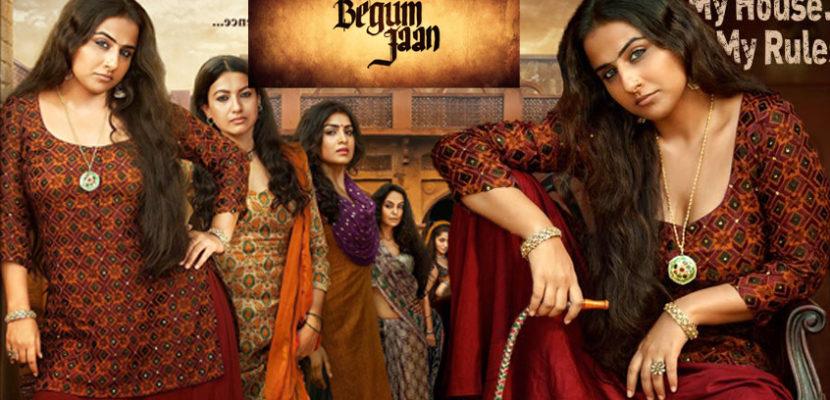 Begum Jaan Vidya Balan, Gauhar Khan Fierce Avatars in Begum Jaan