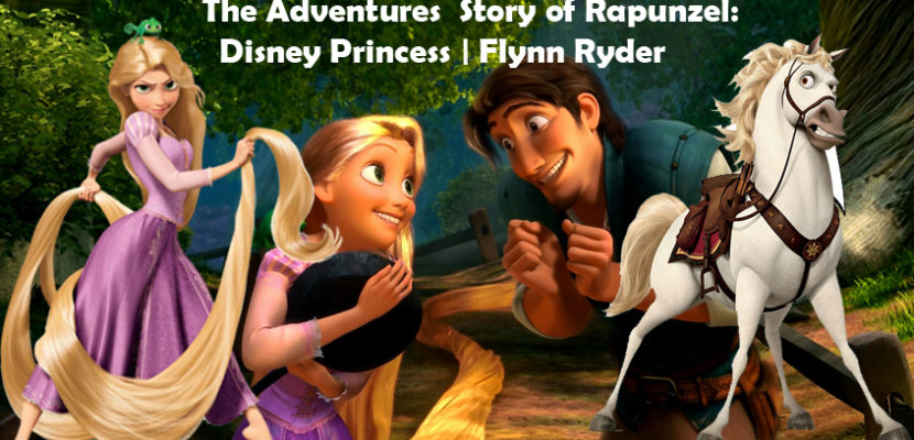 The Adventures Story of Rapunzel: Disney Princess, Flynn Ryder