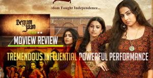 Begum Jaan Review Vidya Balan, Gauhar Khan pweor packed performance Fierce Avatars in Begum Jaan