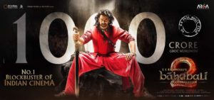 1000 crores crooses Bahubali 2 the conclusion Starring Prabhas, Anushka Shetty, Rana