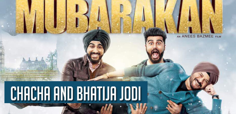 2 kapoors Arjun and Anil kapoor in Mubarakan