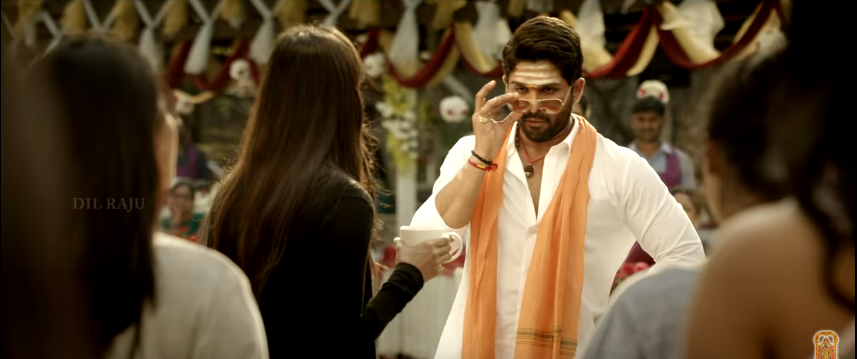 Allu Arjun in Duvvada Jagannadham - DJ New look as Traditional Brahmin