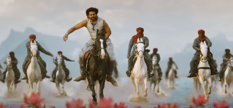 Saahore Bahubali Video song Prabhas  with riding horse in Baahubali 2 the conclusion