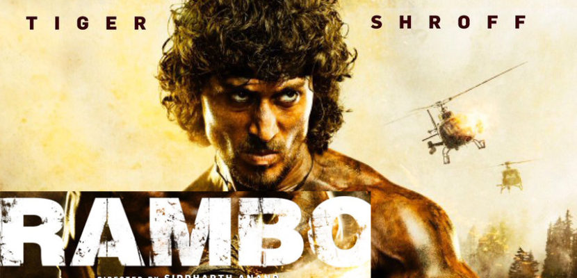 Tiger shroff Rambo first look