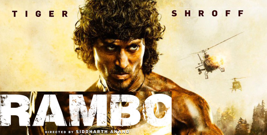 Tiger shroff Rambo first look