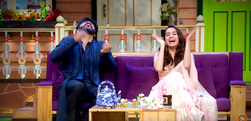 kapil Sharma Show Lachha Makes Laugh every one loud - Half Girlfriend Team Shraddha kapoor and Arjun Kapoor