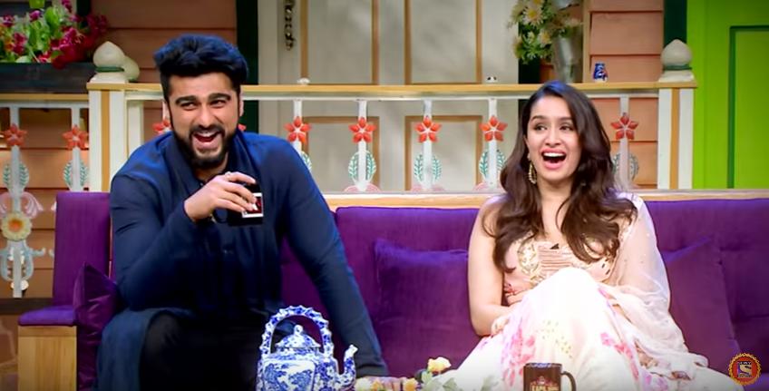 kapil Sharma show half girlfriend Shraddha kapoor and arjun kapoor sony tv