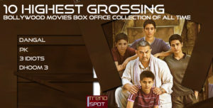 10 Highest Grossing Bollywood Movies Box Office Collection of All time