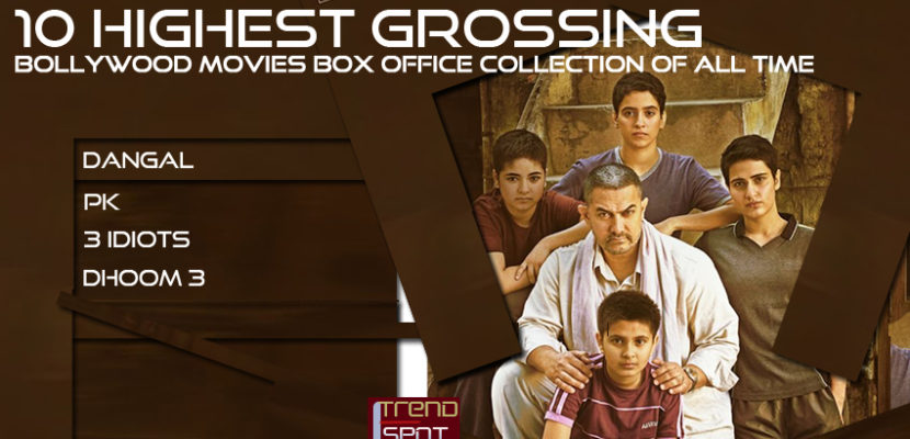 10 highest grossing bollywood movies box office collection - Highest box office collection bollywood ...