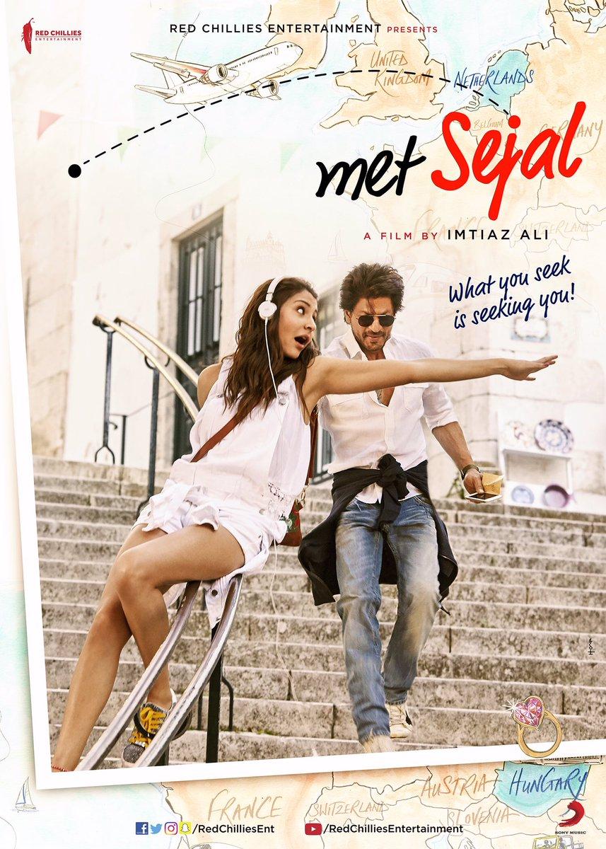 Anushka Sharma  Jab Harry met Sejal Sejal fisrt poster look