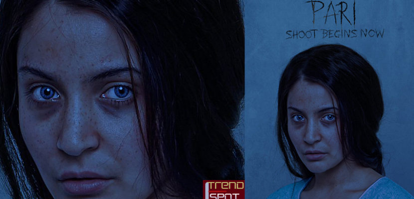 Anushka Sharma with Her cold piercing eyes in Upcoming Pari Movie First Look