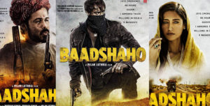 Baadshaho movie posters ajay Devgun emraan hashmi ileana D cruz