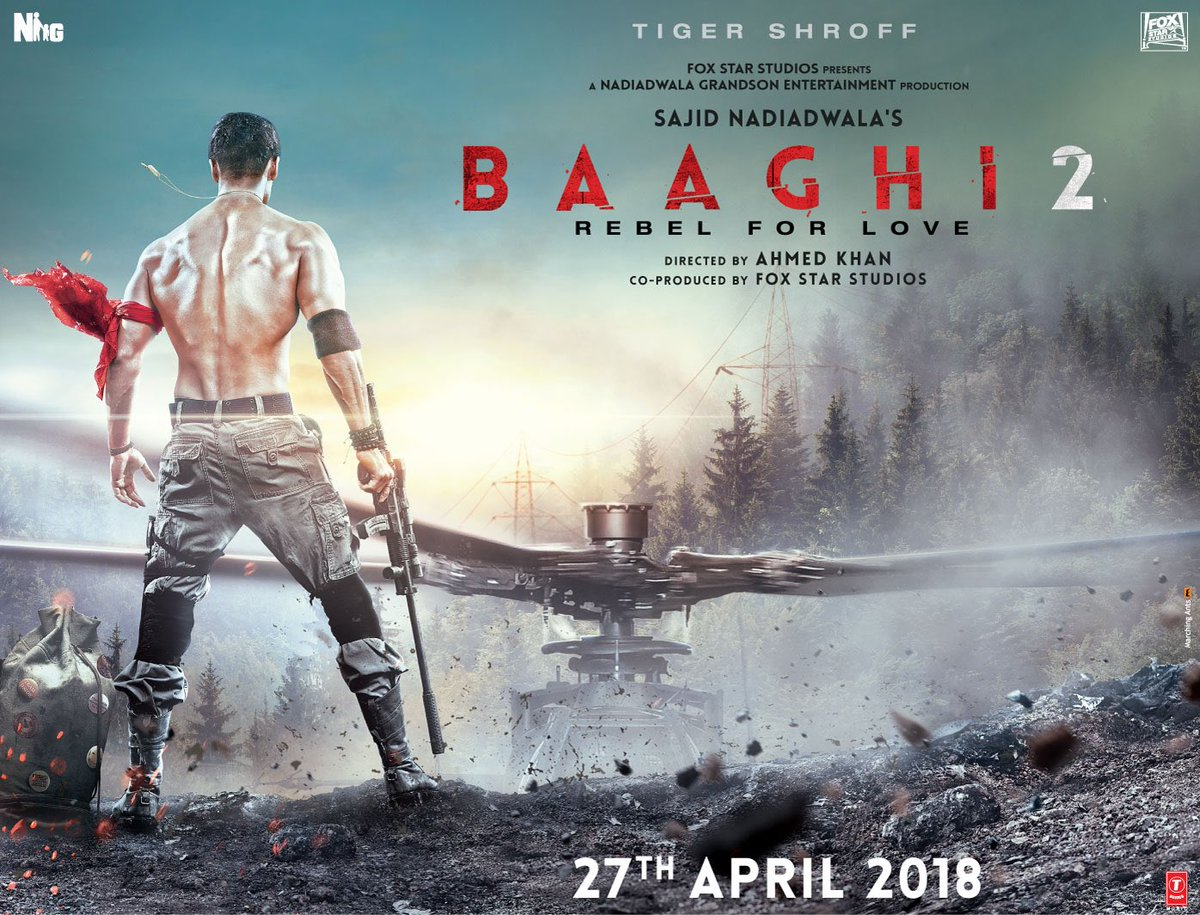 Baaghi 2 Upcoming movies of Tiger Shroff
