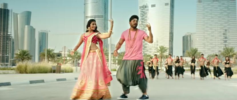 Duvvada jagannadam Pooja Hegde Dance