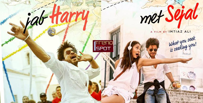 Jab Harry Met Sejal Movie shah rukh khan and anushka