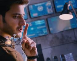 Mahesh babu Spyder Movie to his Robotic spider says Shhhhhhhh