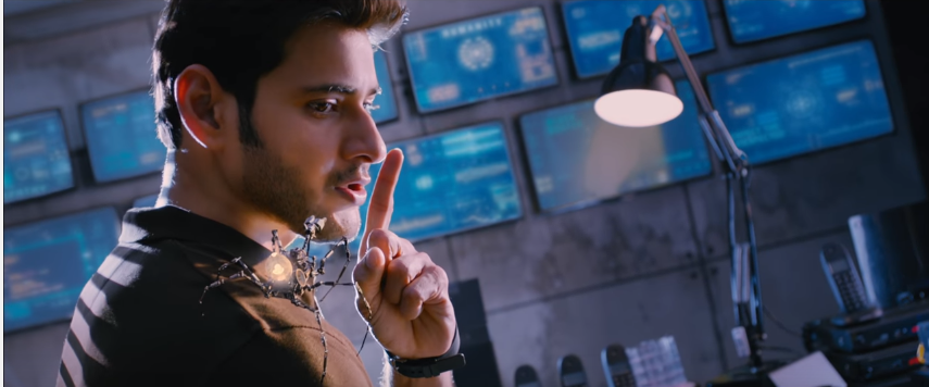 Mahesh babu Spyder Movie to his Robotic spider says Shhhhhhhh