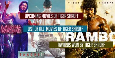 Upcoming movies of Tiger Shroff
