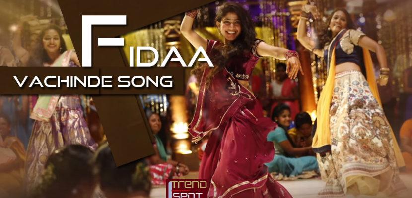 Fidaa vachinde song Sai Pallavi song