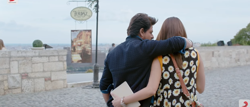 Hawayein song anushka Sharma and Shah Rukh khan in Jab Harry met sejal movie