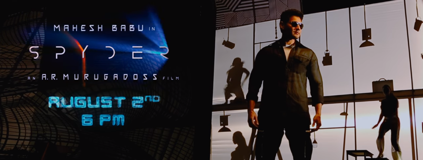Mahesh babu in Spyder movie Boom Boom song
