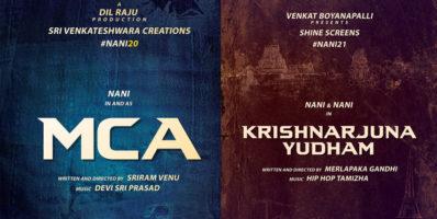 Nani upcoming movie mca and KRISHNARJUNAYUDHAM
