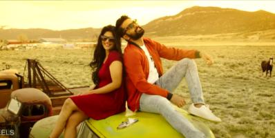 Nithin and Megha in Sunshine song