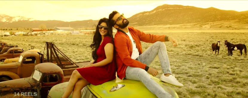 Nithin and Megha in Sunshine song