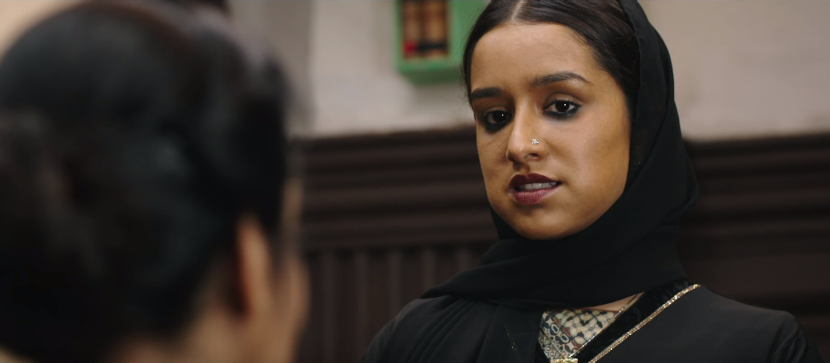 Shraddha Kapoor in Haseena Parkar Movie fierce look