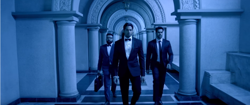 a gentleman movie sidharth jacqueline and sunil shetty