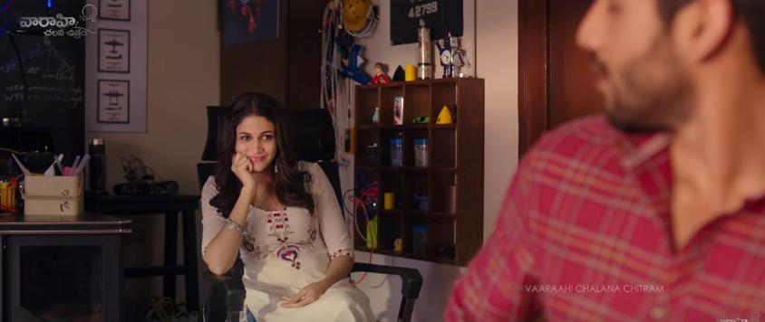 Lavanya tripathi in Yuddham shranam movie with a cute smile