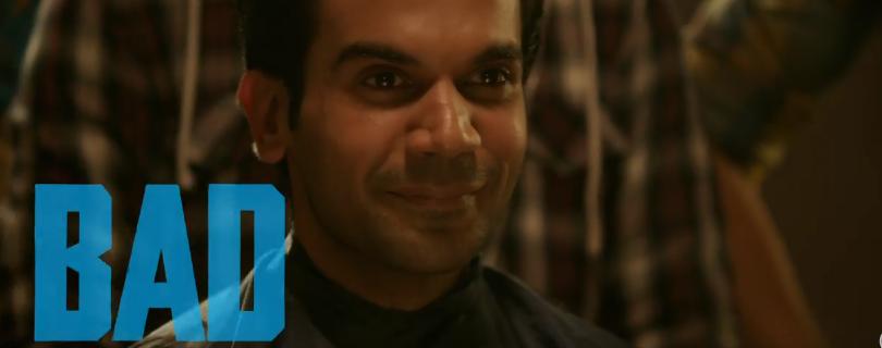Rajkummar as Badass babuaa in bareilly ki barfi