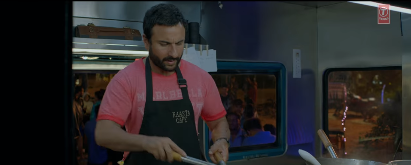 Saif Ali khan chef movie
