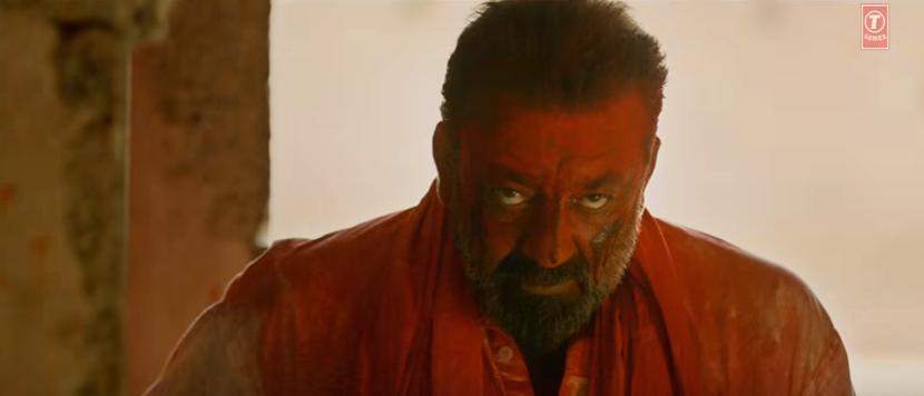 Sanjay dutt in bhoomi movie