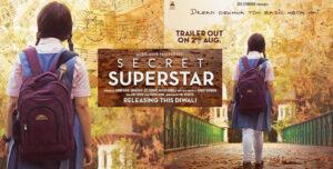 Secret superstar first look Zaira wasim and aamir khan production