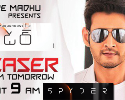 Spyder Movie Teaser