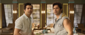 Varun Dhawan in judwaa 2 movie raj and prem