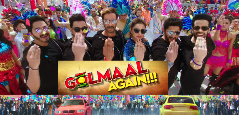 Characters of golmaal again movie and star cast