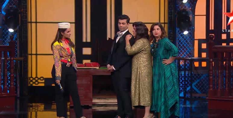Lip sing battle Parineeti and karan johar Ali asgar farhan khan show on star plus