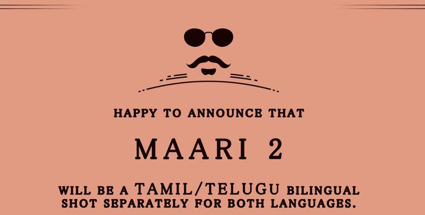 Maari 2 in bilingual movie